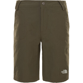 The North Face Exploration Shorts Boys new taupe green